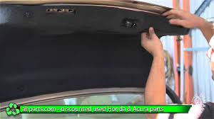 how to install change trunk lock latch 2004 2005 2006 2007 2008