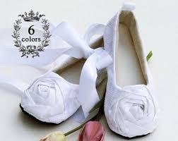 Flower Girls Dress Shoes - silver baby ballet slipper toddler flower shoe in gold