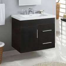 27 Inch Bathroom Vanity Floating Bathroom Vanities Bath The Home Depot In Wall Hung Vanity