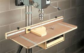Drill Press Table Drill Press Table With Storage Woodsmith Plans