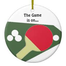 ping pong tree decorations ornaments zazzle co uk