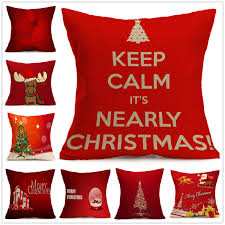 gift tree free shipping 16 colors free shipping santa claus snowman cushion cover