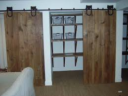 Hanging Sliding Barn Doors by Home Design Sliding Barn Doors For Closets Modern Medium Sliding