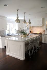 White Island Kitchen The Granite Gurus Carrara Marble White Quartzite Kitchen