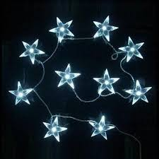 battery operated star lights china battery operated warm white 10 led fairy light st from