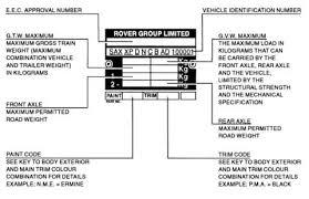 mg rover metro vehicle information