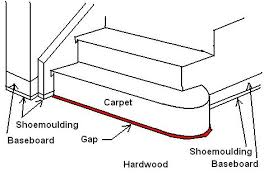 Transition Carpet To Hardwood Hardwood Floor To Carpeted Step Transition Carpentry Diy