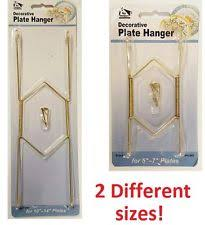 invisible plate hanger ebay