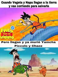 Memes De Vegeta - dopl3r com memes cuando vegeta y napa llegan a la tierra y vas