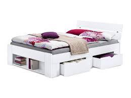4 X Esszimmerst Le Milano Bett Pino In Weiß Dekor Und Betten U0026 Hochbetten Günstig Online