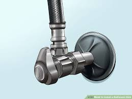 Titanium Bathtub How To Install A Bathroom Sink 13 Steps With Pictures Wikihow