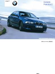 download service manual for bmw e39 german docshare tips