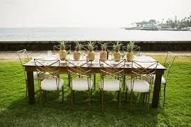 table and chair rentals big island event rental supplies big island tents