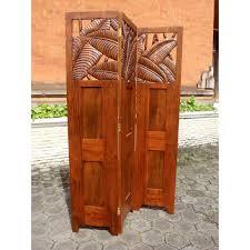 carved wood room divider bali room screen divider at elementfinefurniture com hand made