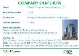 electrical engineering jobs in dubai companies contacts three phase technical services llc dubai lv mv switchgear site