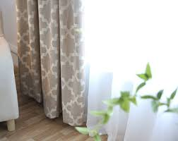 Gold And White Curtains Gold Curtains Etsy