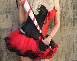 Size Harley Quinn Halloween Costume Harley Quinn Tutu Etsy