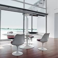 decor u0026 tips modern dining room design with saarinen table and