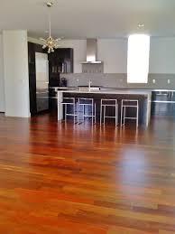 ipe hardwood floors with 3 coats of water based finish hardwood