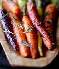 rosemary roasted carrots recipe roasted carrots carrots and