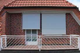 sonnenrollo f r balkon leco sonnenrollo breite 150 cm weiß grau maße real