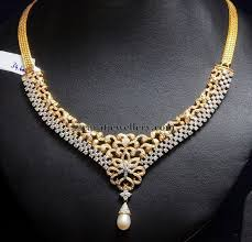gold with diamond necklace images 29 best jewellery images diamond jewellery diamond jpg
