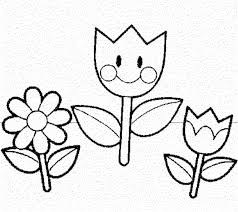 print u0026 download spring flowers coloring pages