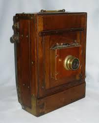 appareil photo chambre chambre photographique appareil photo en acajou xixe siecle