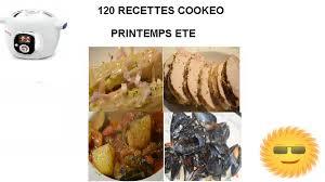 recettes cuisine pdf cookeo eté 120 recettes pdf gratuit recettes faciles rapides au