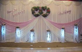 wedding backdrop aliexpress free shipping white backdrop pink swag pipe and drape
