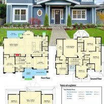 Farmhouse Architectural Plans 45 Farmhouse Plans With Open Floor Plans Modern Open House Plans 5