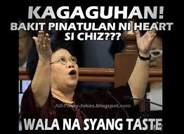 Filipino Meme - funny senator mirriam santiago meme funny pinoy jokes atbp