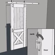 Sliding Barn Door Latch by Rarelock Barn Door Lock Sliding Door Lock Stainless Simple Easy To