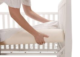 Used Crib Mattress Healthy Support Crib Mattress Lullabyearth