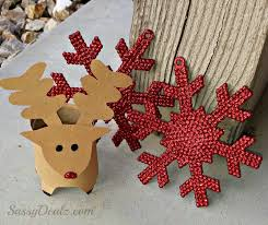 Mini Reindeer Toilet Paper Roll Christmas Craft For Kids Crafty