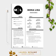 elegant résumé template 2 pages resume from laurelresume on