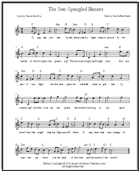 free printable sheet music for xylophone star spangled banner free sheet music lyrics for all instruments