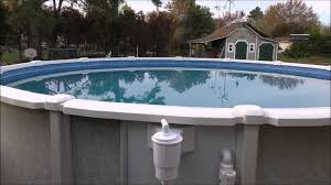Saltwater 8000 Series 21 Ft x 54 Inch tall Ground Pool