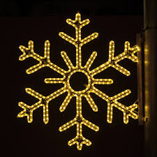 Christmas Decorations Outdoor by Shop Holiday Lighting Specialists 3 Ft Point Snowflake Pole