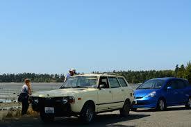 subaru station wagon old parked cars 1979 subaru dl 4wd wagon