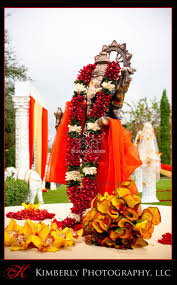 Flower Garland For Indian Wedding Suhaag Garden Ganesh Wedding Garland Indian Wedding Decorator