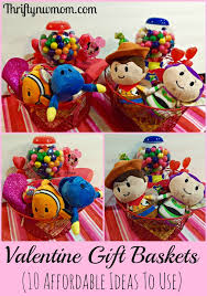 valentines day gift baskets day gift baskets 10 affordable ideas for kids gift