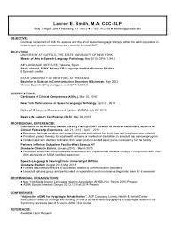 speech pathology cover letter