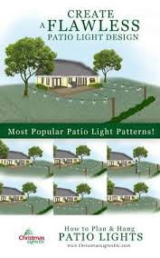 Patio String Lights by How To Hang Patio String Lights 60th Pinterest Patio String