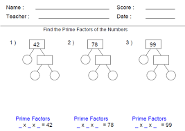 best ideas of factor trees worksheets about layout shishita