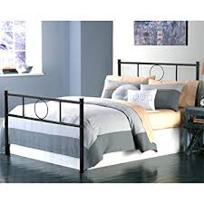 Metal Bed Frame No Boxspring Needed Greenforest Size Bed Frame Stable Metal Slat