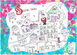 Maps For Kids Ordnance Survey Blog Santa Map Competition Winner Ordnance