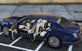 bentley bentley mulsanne mulliner 2013 add on replace gta5 mods com