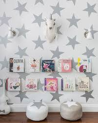 Nursery Wall Sconce Nursery With Acrylic Bookshelves Contemporary Nursery