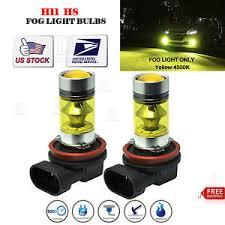 yellow led light bulbs 2xh11 h8 led fog light bulb yellow 2323 100w 4300k driving